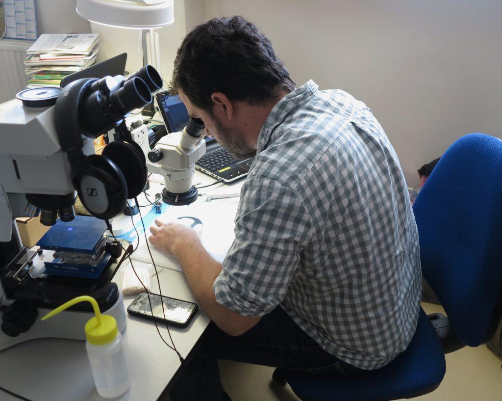Jorge Calvo Gomez, chercheur au Laboratoire Archéosciences