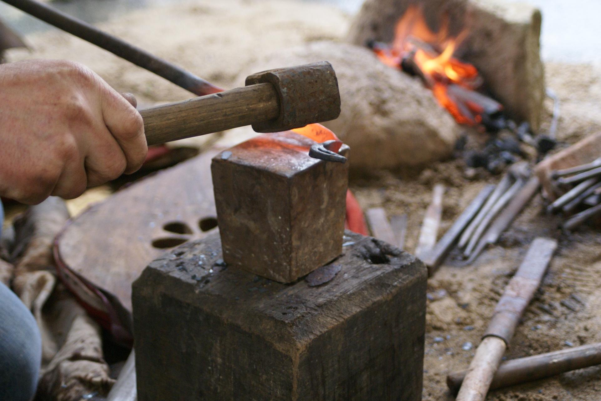 forge au Musée de Carnac